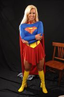 Megan Avalon Supergirl by zenx007