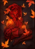 Fall into Fall by Vexstacy