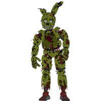 SpringTrap - Five Nights At Freddy's   3 by J04C0