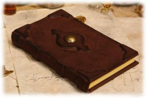Leatherbound Book - Lederbuch by Lederkram-de