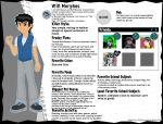 Will Morphos Monster High Bio by Redtriangle
