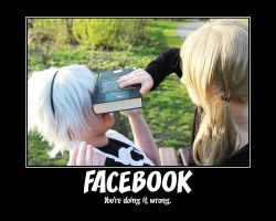FACEBOOK - You're doing it wrong (Soul Eater) by RyuukaChan