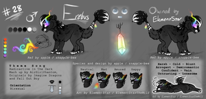 Erebus Ref Sheet by ElementStarTheWolf