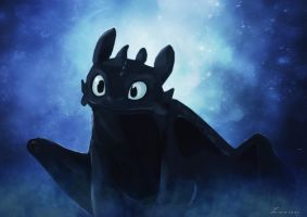 Toothless by Liancary-Stock