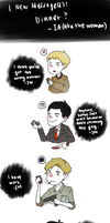 Sherlock: Dinner by LuffYu