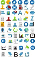Pretty Office Icon Set Part 8 by FreeIconsFinder