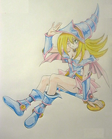 Dark Magician Girl by LightPhyre