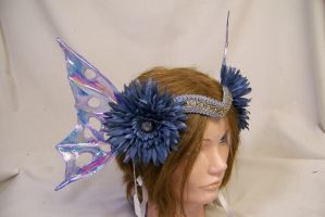 blue fairy crown by AmandaKathryn