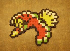Bead Sprite - Ho-oh by Cuttlefish43