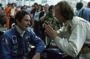 Patrick Depailler | Ronnie Peterson (Monaco 1977) by F1-history