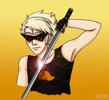 Badgemotive: Dirk Strider by Zombie-Wiesel