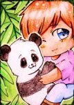 #30 - Cuddle time in the bamboo forest by Kuraiko-kyun