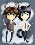 Harry Potter - Prongs and Padfoot 25.07.2015 by gocholudek