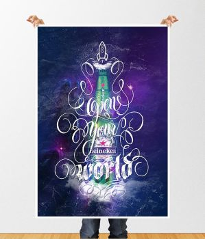 Concept Poster Heineken - Open Your World by BeautyMind