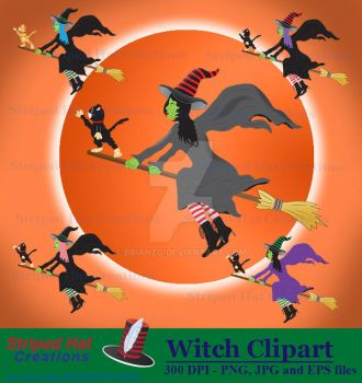 Witch clipart by BrianZG