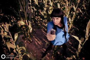 Star Trek - Miss Spock - We come in peace by MWmagic