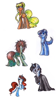 The most active ponies by OfficerPony
