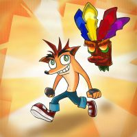 Crash Bandicoot by Kna