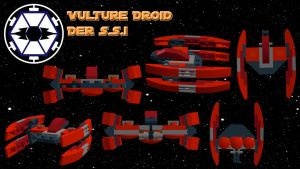 Vulture Droid der SSI by MiguelofKing
