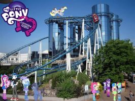 My Little Pony In Europapark by Phi1997