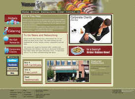Wausau to Go Web Design by docholiday2005
