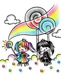 Coloring the Monochrome World by Colorful--Melody