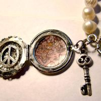 World Peace Locket Bracelet by SteamSociety