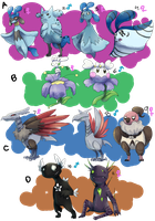 PKMNation: Clutch Dump Part 2 [OPEN] by garbagekeeper