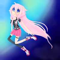 IA Vocaloid by DesuPurpalHoodie