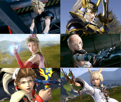 NEW Final Fantasy  dissidia game 2015 by Redchampiontrainer01