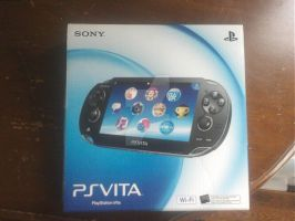 My PlayStation Vita... Finally Got It by DestinyDecade