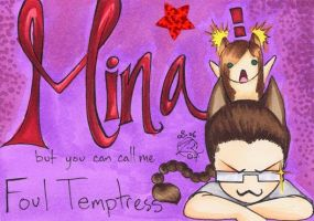 -+-FT Mina badge-+- by zirio