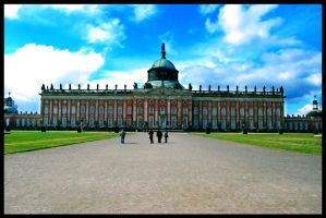 Neues Palais II by Larxziss