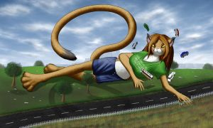 Roadside Attraction by StampyDragon