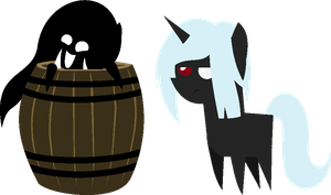 CHIBI: Xin discovers barrels! by iAPOCOLYPTIK