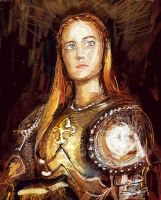 My Saint Joan Of Arc by PauloDuqueFrade