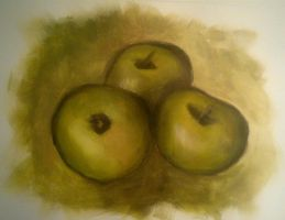 3 Apples by Searwen
