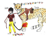 Aedan and Theron by jackiehorse
