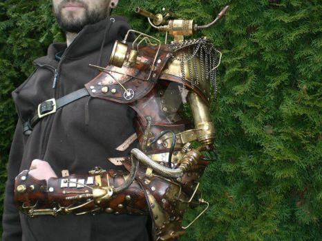 Steampunk Arm Finished by Skinz-N-Hydez