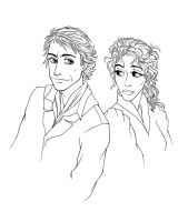 Sherlock and Iren by Ka-ren