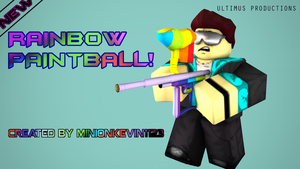 Rainbow Paintball  for minionkevin by 2op4yu