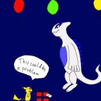 B' present for lugia by Guidorius