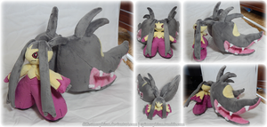 Mega Mawile Plush by Diffeomorphism