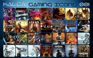 Kalca Game Icons 001 by Kalca