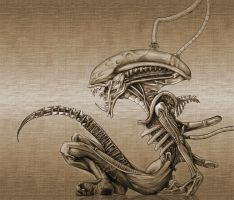 Twisted Alien by AvPLeague