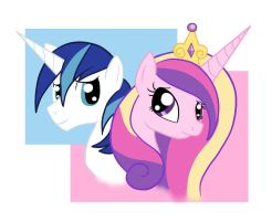 .:Wallpaper Mi amore Cadence and Shining Armor:. by Lord-Hon