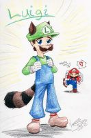 Luigi, the best Mario Brother by NinjaDog
