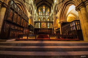 Hexham Abbey by rephocus