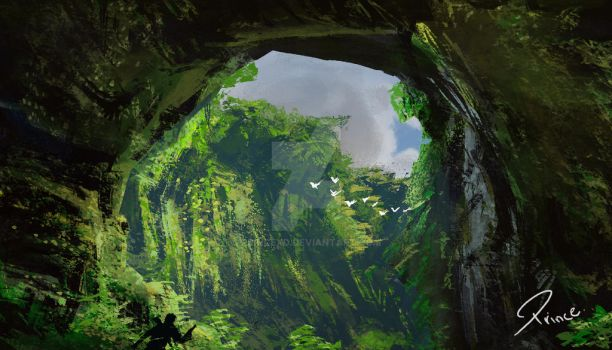 Cave by PRINCEXD
