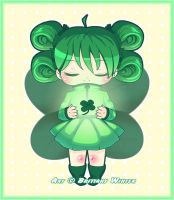 .:Clover Fairy:. by PhantomCarnival